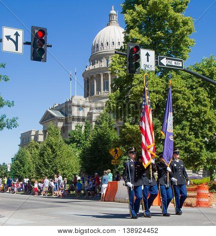 Opening Of The 4Th Of July Parade