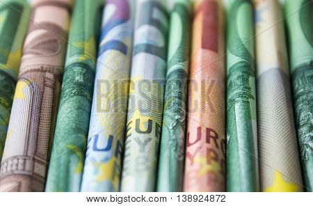 Cash Money - Euro Bills , European Money