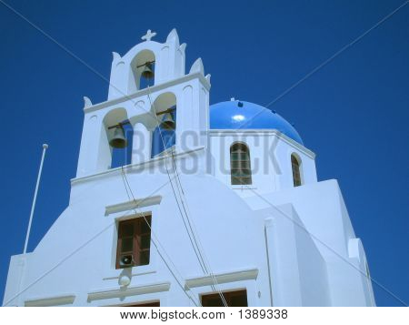 Church On Greek Island - Santorinit