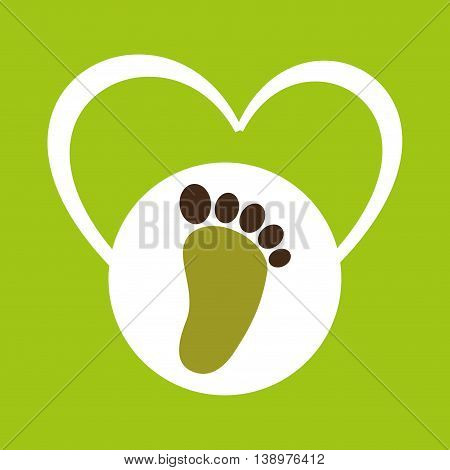 ecology enviromental eco nature isolated, vector illustration
