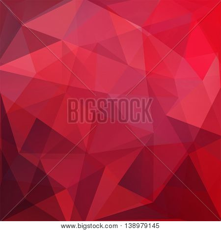 Polygonal Background. Can Be Used In Cover Design, Book Design, Website Backdrop. Vector Illustratio