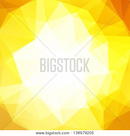 Polygonal Background. Can Be Used In Cover Design, Book Design, Website Background. Vector Illustrat