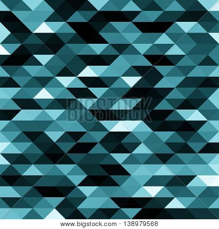 Isolated abstract blue, black and white lowpoly designed vector background. Polygonal elements backdrop. Translucent overlays wallpaper. Decorative tile illustration.