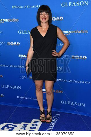 "LOS ANGELES - JUL 14:  Mary Rohlich arrives to the ""Gleason"" Los Angeles Premiere on July 14, 2016 in Los Angeles, CA"