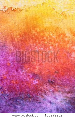 Rainbow Watercolour Background 3