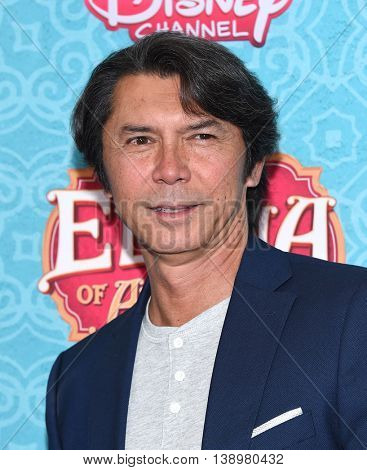 """LOS ANGELES - JUL 16:  Lou Diamond Phillips arrives to the Disney Channel's """"Elena of Avalor"""" Los Angeles Premiere on July 16, 2016 in Beverly Hills, CA"""
