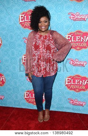 "LOS ANGELES - JUL 16:  Yvette Nicole Brown arrives to the Disney Channel's ""Elena of Avalor"" Los Angeles Premiere on July 16, 2016 in Beverly Hills, CA"