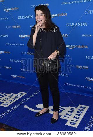 """LOS ANGELES - JUL 14:  Nanci Ryder arrives to the """"Gleason"""" Los Angeles Premiere on July 14, 2016 in Los Angeles, CA"""
