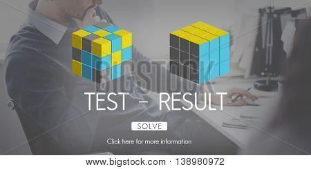 Test Result Development Evaluation Progress Concept