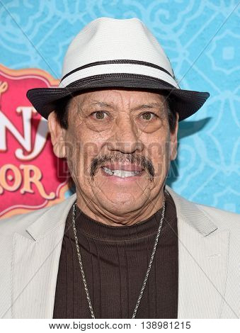 "LOS ANGELES - JUL 16:  Danny Trejo arrives to the Disney Channel's ""Elena of Avalor"" Los Angeles Premiere on July 16, 2016 in Beverly Hills, CA"