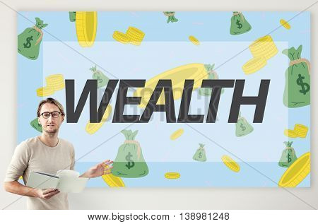 Wealth Finance Economic Accounting Fund Concept