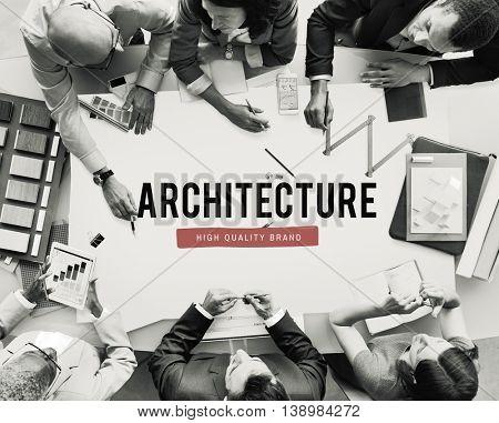 Architecture Construction Plan Planning Idea Concept