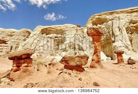Rock formation. Grand Staircase - Escalante National Monument