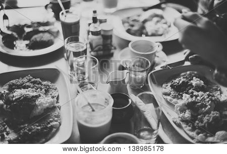 Camping Food Picnic Togetherness Lifestyle Concept