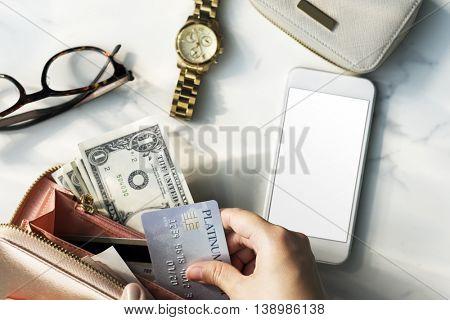 Shopping Spending Shopaholic Money Concept