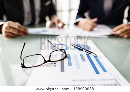 Business People Meeting Strategy Planning Concept