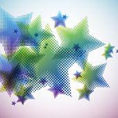 Halftone Stars poster
