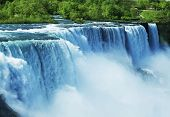Niagara waterfall poster