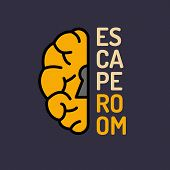 Real-life room escape and quest game poster. poster