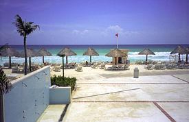 Beach At Cancun