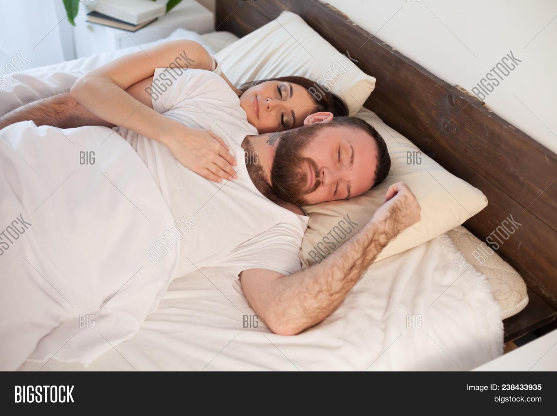 . Husband Wife Sleeping Image   Photo  Free Trial    Bigstock