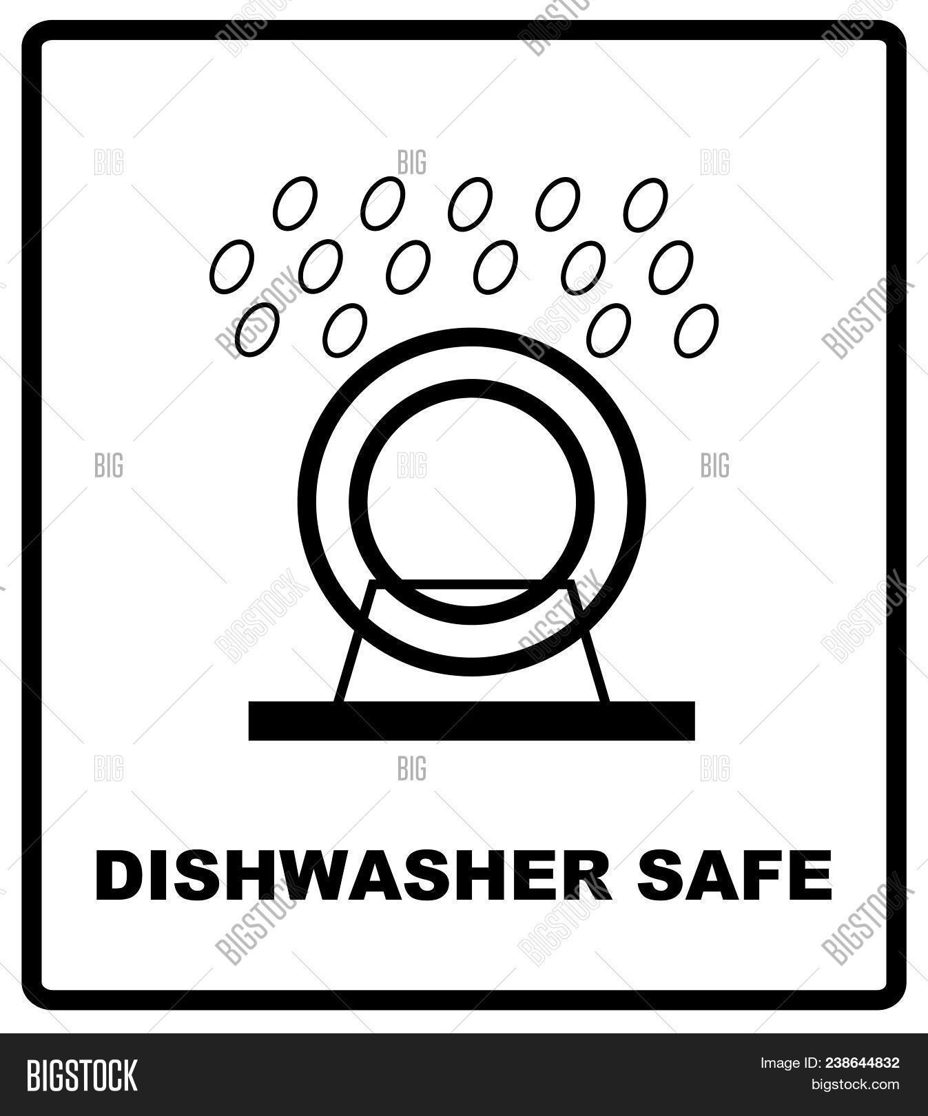 Dishwasher Safe Symbol Image Photo Free Trial Bigstock