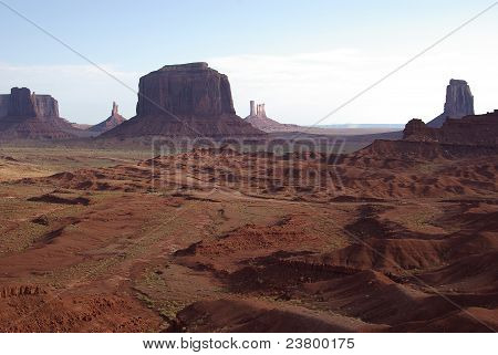 Monument Valley from John Ford's Point