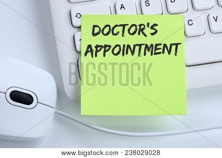 Doctor's Medical Appointment Doctor Medicine Ill Illness Healthy Health Business Concept Mouse
