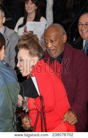 NEW YORK, NY - NOVEMBER 06: Bill Cosby and New York Post Columnist Cindy Adams attend at 7th Annual Stand Up For Heroes Event at The Theater at Madison Square Garden on November 6, 2013.