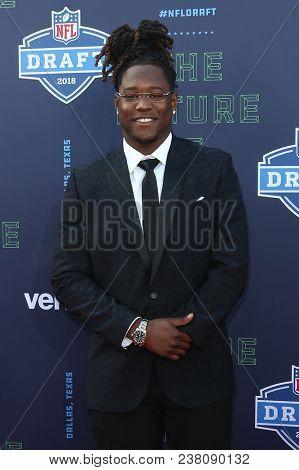 ARLINGTON, TX - Shaq Griffin attends the 2018 NFL Draft at AT&T Stadium on April 26, 2018 in Arlington, Texas.