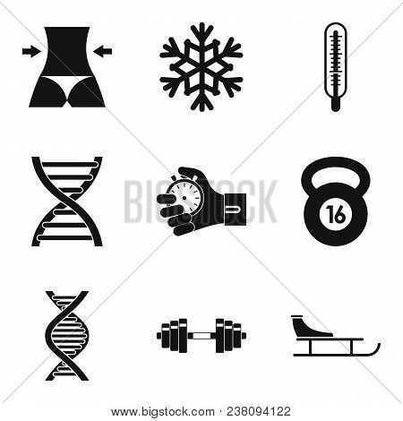 Wellness Personally Icons Set. Simple Set Of 9 Wellness Personally Vector Icons For Web Isolated On