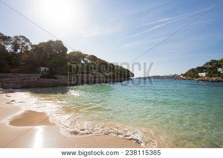 Cala D'or, Mallorca - Sundown At The Beautiful Beach Of Cala D'or