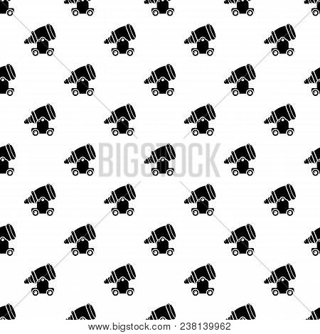 Ancient Cannon Pattern Vector Seamless Repeating For Any Web Design
