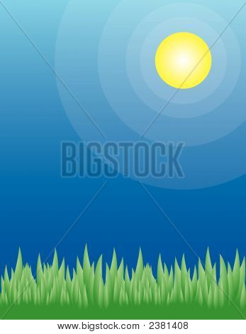 Green Grass On A Summer Day (Replacing: 1835437)