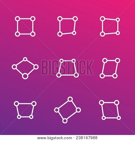 Perspective Vector Icons, Eps 10 File, Easy To Edit