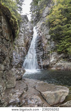 Glen Ellis Falls In Jackson At Elvis River