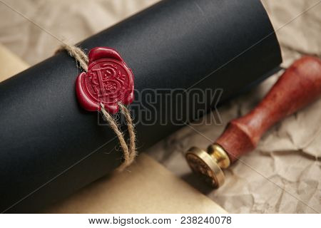 Lawyer Or Attorney Working In Office With Automatic Stamp. Law Attorney Lawyer Business Man Notary P
