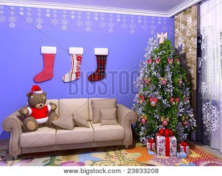 Christmas babyroom (childroom)
