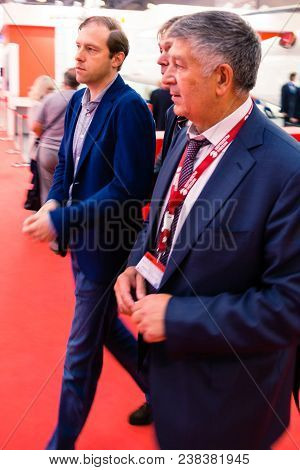 Moscow, Russia - May 23, 2015: Minister Of Industry And Trade Of The Russian Federation Denis Mantur