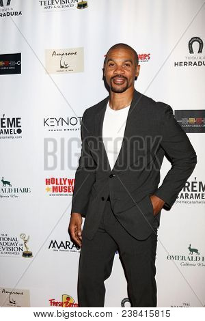 LOS ANGELES - APR 25:  Aaron D Spears at the NATAS Daytime Emmy Nominees Reception at Hollywood Museum on April 25, 2018 in Los Angeles, CA