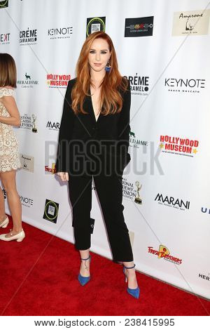 LOS ANGELES - APR 25:  Camryn Grimes at the NATAS Daytime Emmy Nominees Reception at Hollywood Museum on April 25, 2018 in Los Angeles, CA