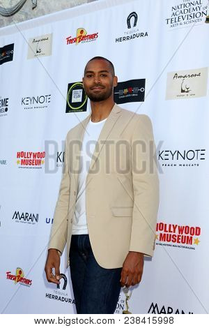 LOS ANGELES - APR 25:  Lamon Archey at the NATAS Daytime Emmy Nominees Reception at Hollywood Museum on April 25, 2018 in Los Angeles, CA