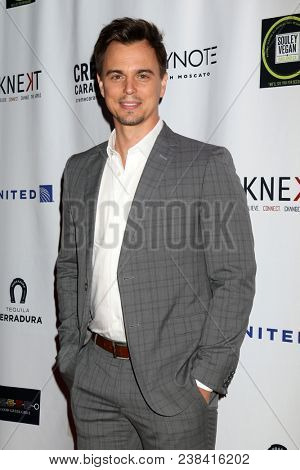 LOS ANGELES - APR 25:  Darin Brooks at the NATAS Daytime Emmy Nominees Reception at Hollywood Museum on April 25, 2018 in Los Angeles, CA