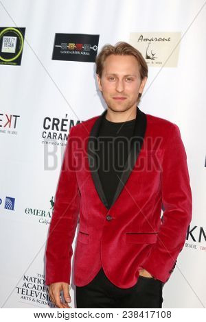 LOS ANGELES - APR 25:  Eric Nelsen at the NATAS Daytime Emmy Nominees Reception at Hollywood Museum on April 25, 2018 in Los Angeles, CA