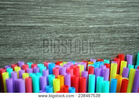 Straw Straws Plastic Drinking Background Colourful  Full Screen Single Use Pollution