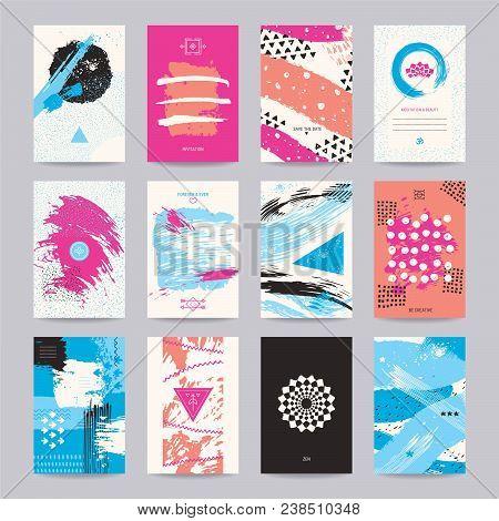Creative Poster, Art Flyer, Colorful Modern Invitation, Birthday And Wedding Card, Web Banner. Artis