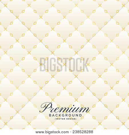 White Upholstery Texture Background Design Vector Illustration