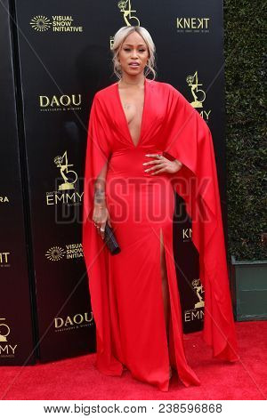 LOS ANGELES - APR 29:  Eve, Eve Jihan Jeffers at the 45th Daytime Emmy Awards at the Pasadena Civic Auditorium on April 29, 2018 in Pasadena, CA