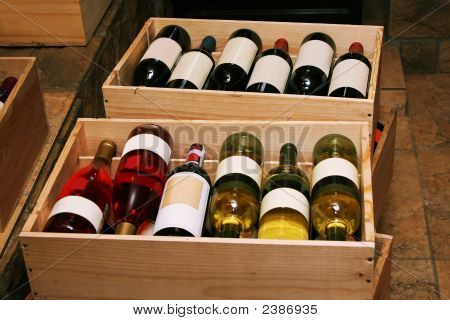 Wine In Bottles