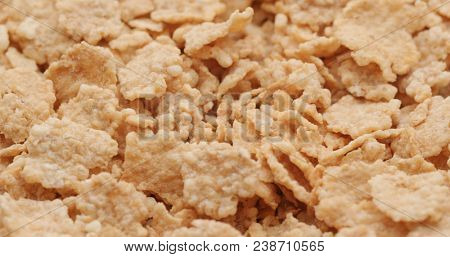 Heap of corn flake
